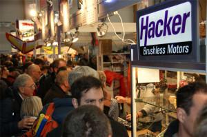 Hacker Motor GmbH auf der Messe Sinsheim