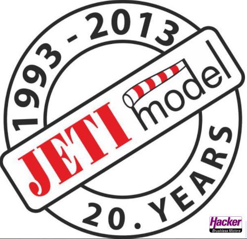 Unser Partner JETI Model hat Geburtstag