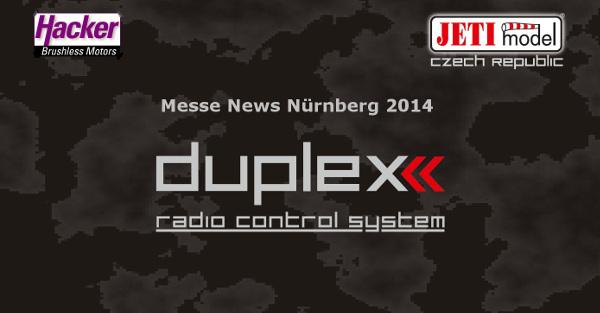 Neuheiten Hacker/Jeti Duplex auf der Messe Nürnberg 2014 (Teil 1 )