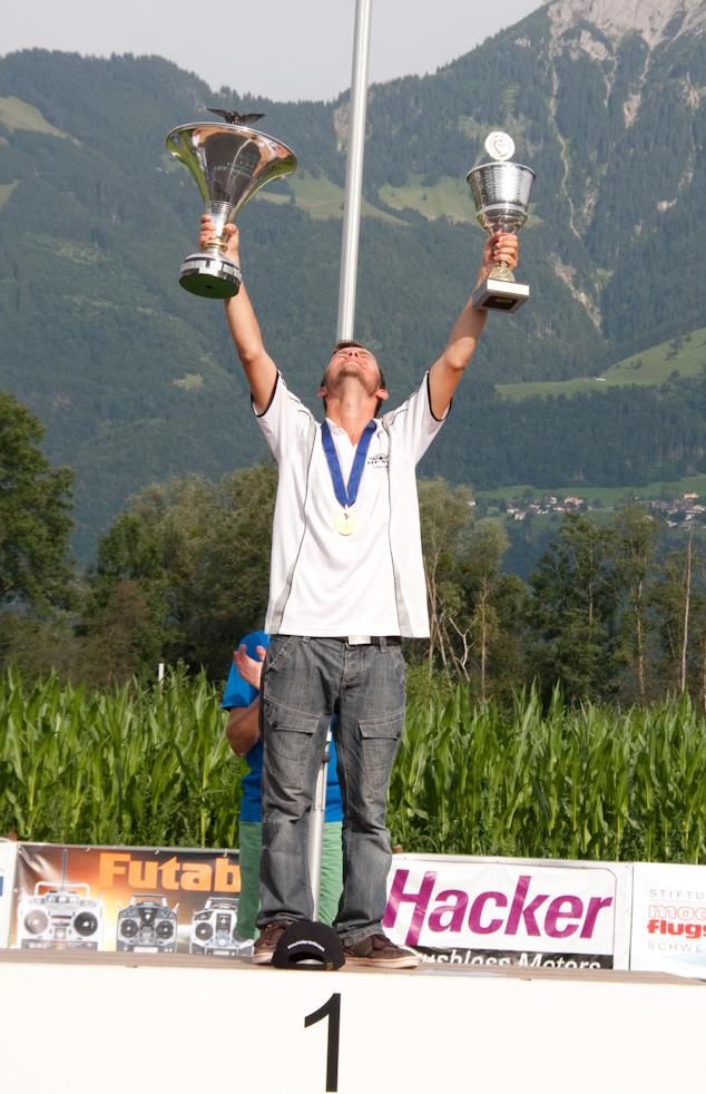 Stefan Kaiser gewinnt F3A Europameisterschaft