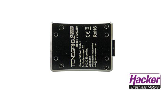 Der TENSORIC 8.2 kann sicher über vier M3 Gewindebohrungen mit der Reglerplatte im Fahrzeug montiert werden.