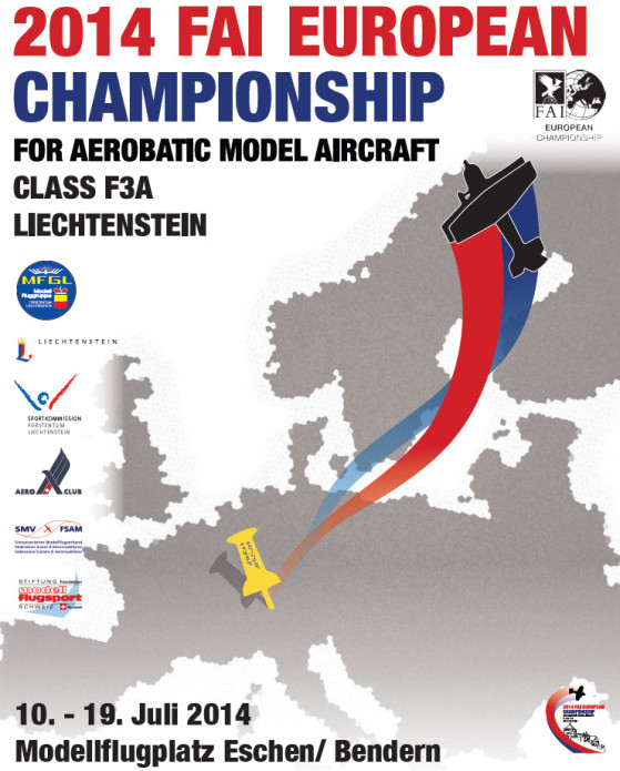 F3A Europameisterschaft in Liechtenstein