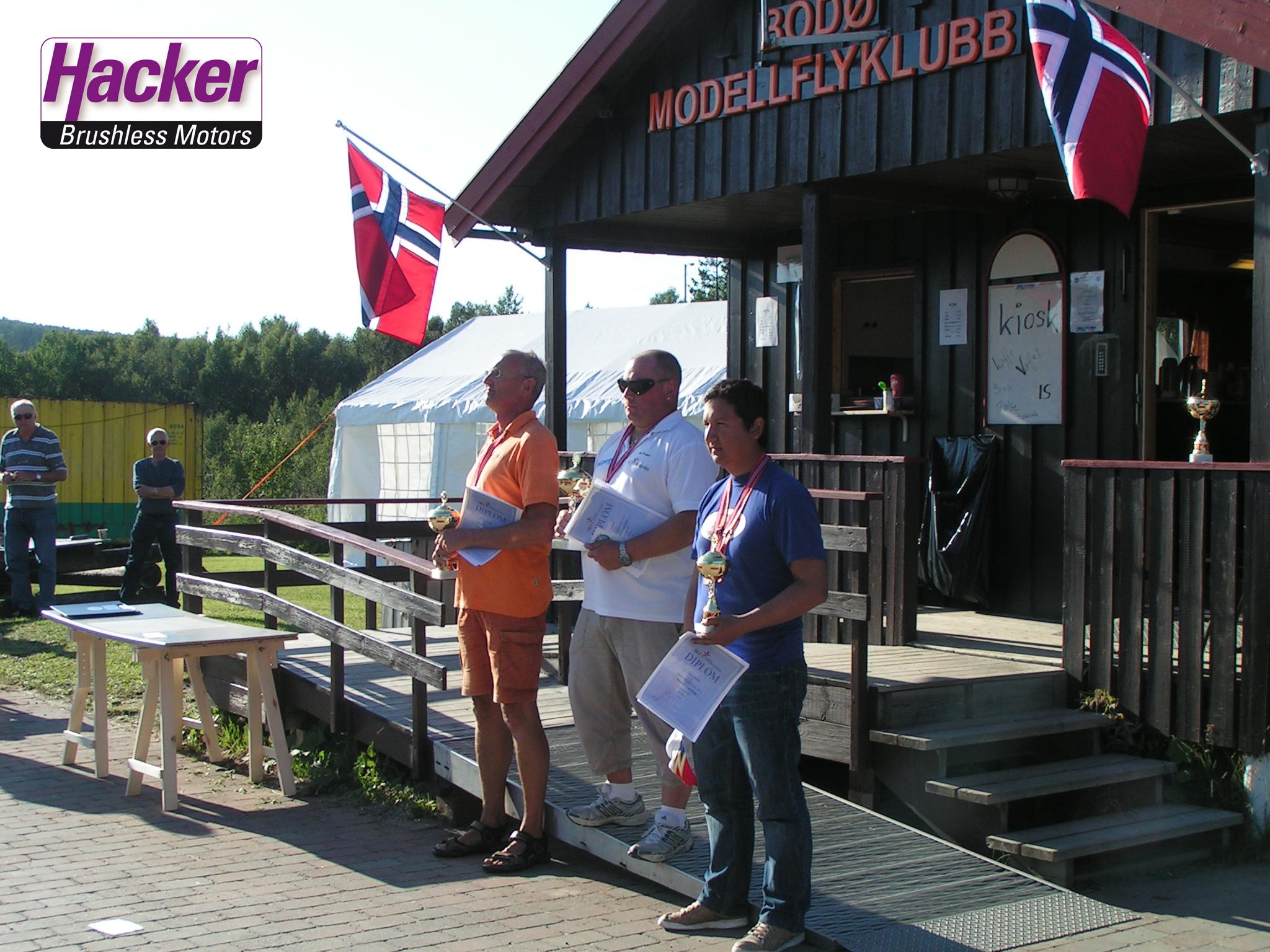 Alexander Heindel FAI F3A Wettbewerb in Norwegen