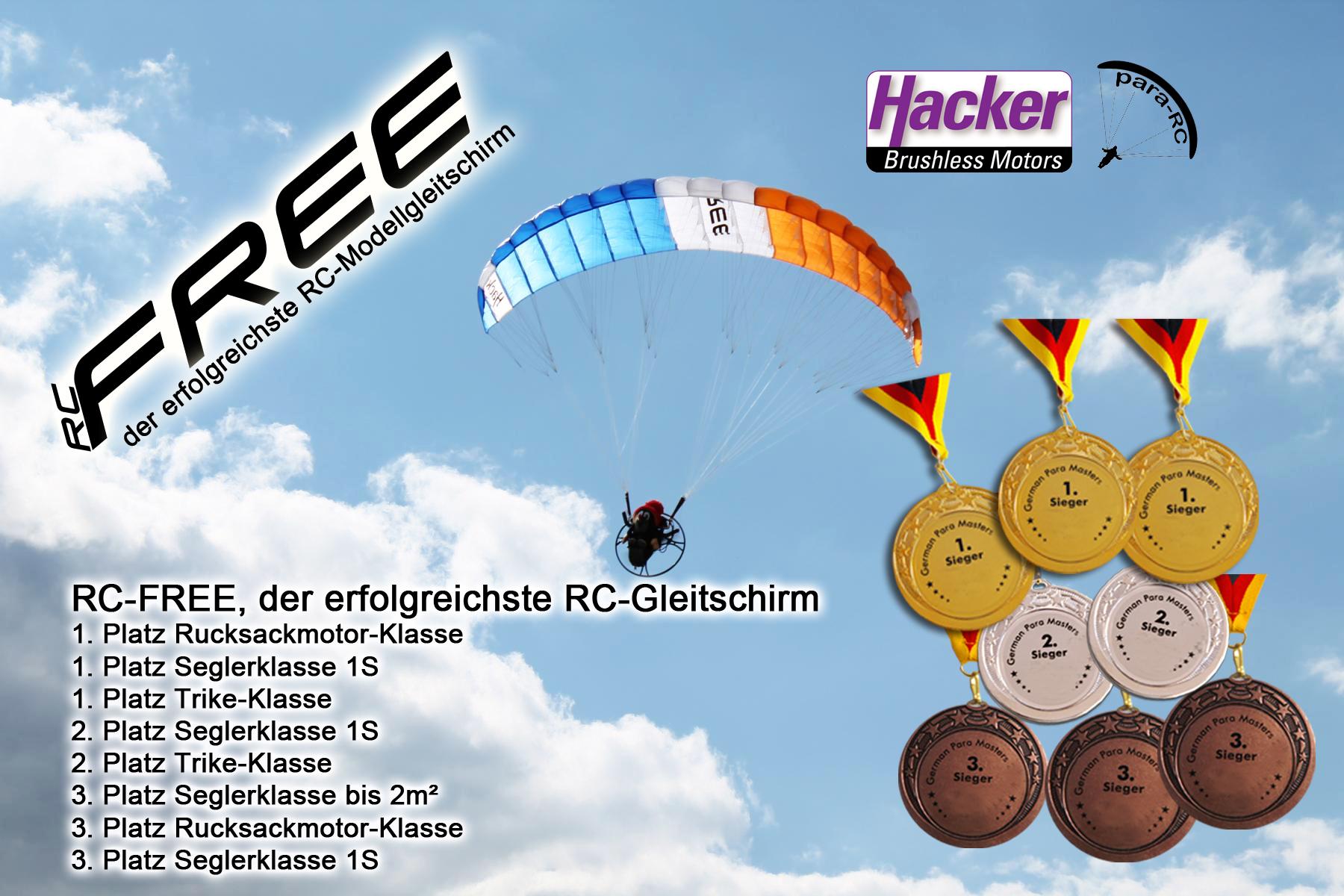 RC-FREE_ erfolgreichster RC-Gleitschirm