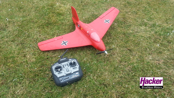 die neue Hacker Me 163 - Testflüge der 0-Serie erfolgreich