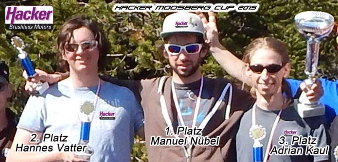 Manuel Nübel gewinnt vor Hannes Vatter und Adrian Kaul