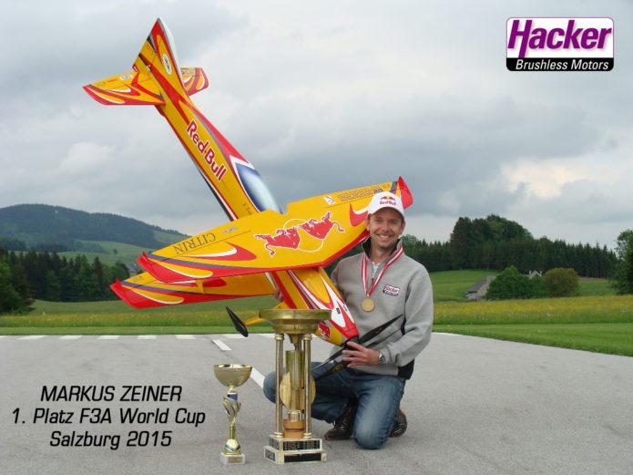 Markus Zeiner gewinnt F3A World Cup in Salzburg