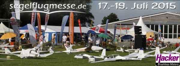 kommendes Wochenende: Hacker Motor GmbH auf der Segelflugmesse 2015