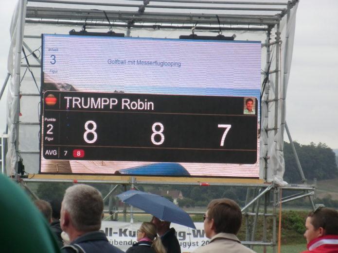 Robin Trumpp Bildschirm