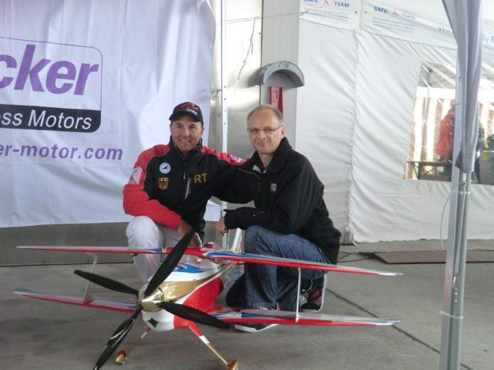Rainer Hacker und Robin Trumpp