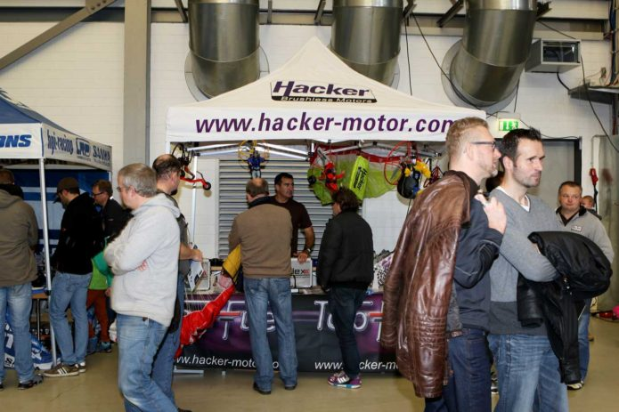Messestand Hacker Brose Arena