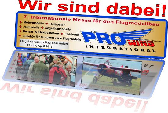 Hacker Motor GmbH auf der ProWing Nord