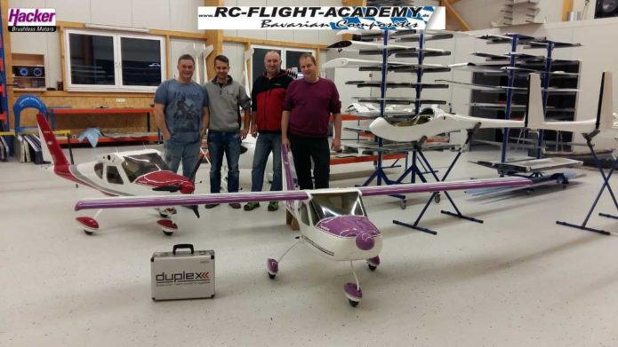 Teambild RC Flight Academy & Hacker Motor
