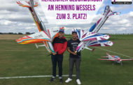 Hennig Wessels belegt 3. Platz in der F3A Klasse DMFV