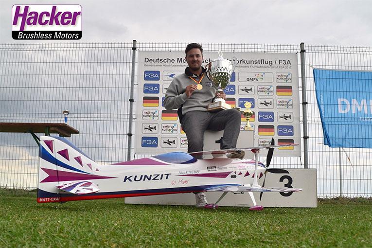 Robin Trump, Deutscher Meister der Klasse F3A 2016