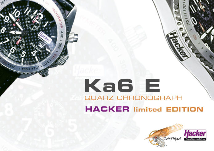 """Ka6 E Quarz-Chrono"" HACKER LIMITED EDITION 2016"