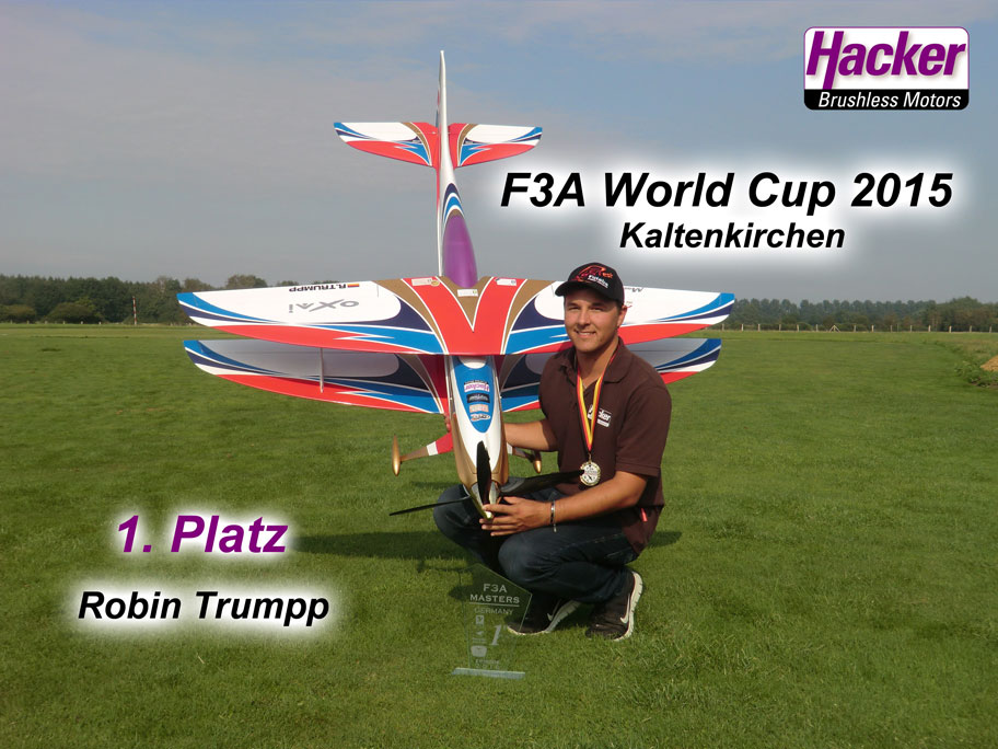 Robin Trumpp gewinnt F3A World Cup und Deutsche Meisterschaft 2015