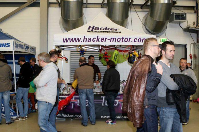 Messestand Hacker Brose Arena