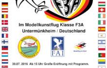 18. FAI Europameisterschaft im Modellkunstflug