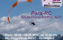Modellbau Friedel / Hacker Para-RC-Meeting 2017