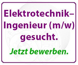 Elektrotechnik–Ingenieru gesucht