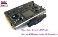 DC-24 & DS Firmware Update V 4.23 verfügbar