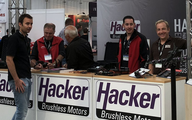 Hacker Motor auf dem JetPower Event | Hacker Motor at the JetPower Event
