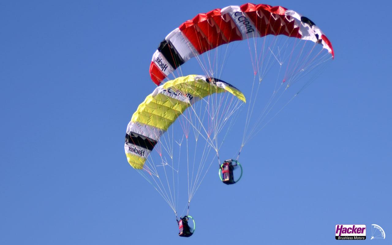 Para-RC: Neue Einsteigerschirme am Start | Para-RC: New beginner paragliders in the pipeline