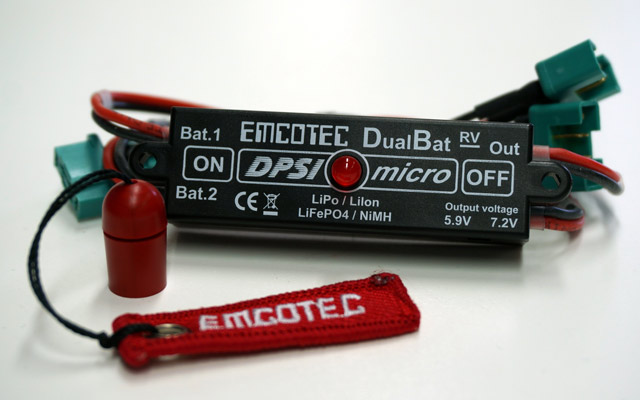 Kurz vorgestellt: Akkuweiche DPSI Micro DualBat | Brief introduction: Dual power supply DPSI Micro DualBat
