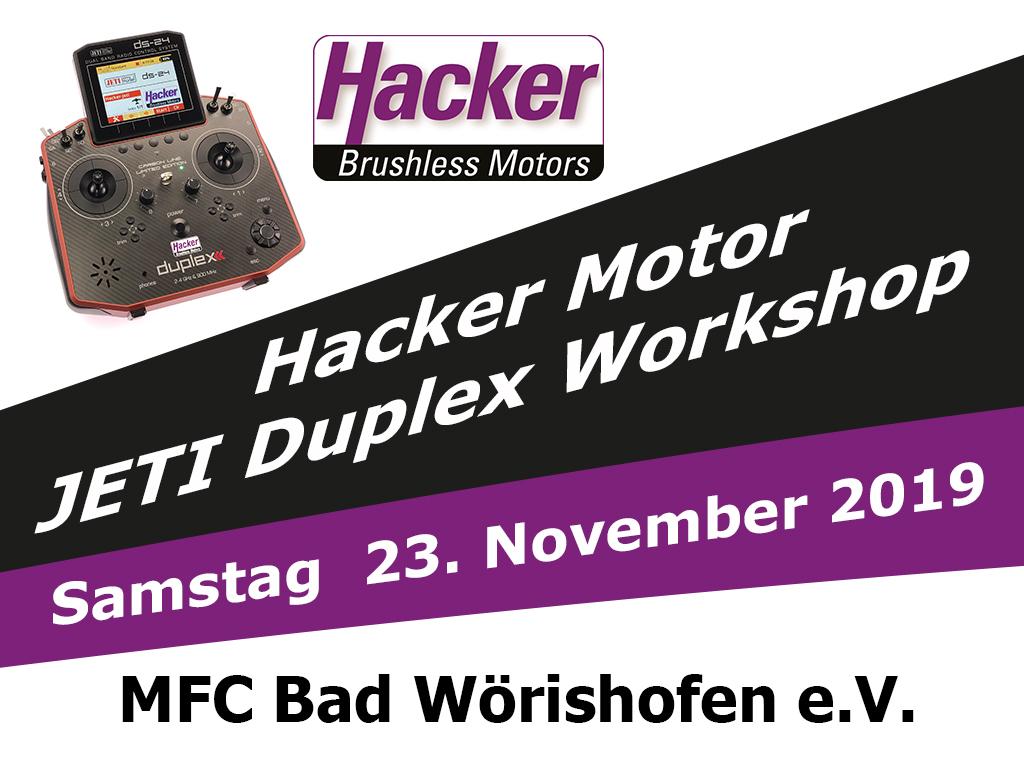 JETI Duplex Workshop in Bad Wörishofen