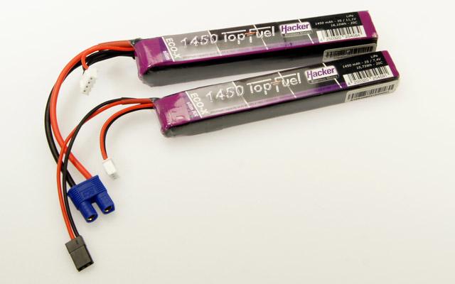 TopFuel-Akkus für schmale Rümpfe | TopFuel batteries for narrow fuselages