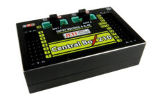 Ab Dezember im Handel: Central Box 210 |  From December on sale: Central Box 210