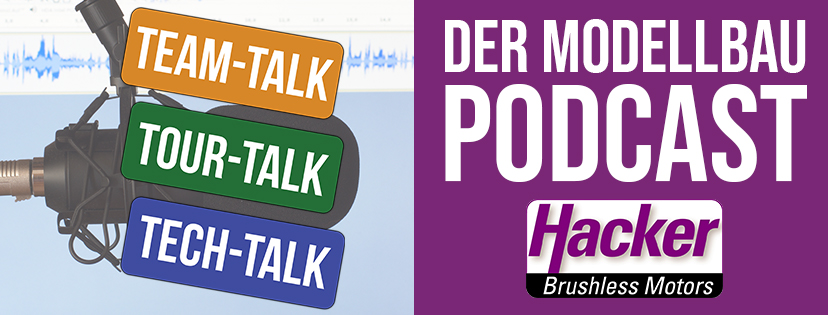 Hacker Motor Modellbau-Podcast: Heute mit Dirk Belting, Orthopädietechniker und Pylon-Weltmeister